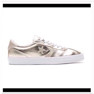 Converse Shoes - Gold converse chuck Taylor breakpoint shoes